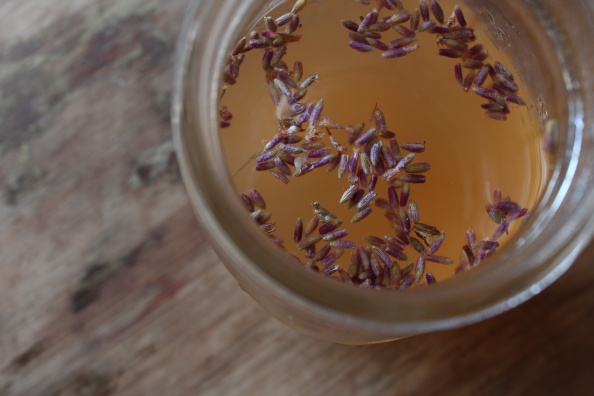 Lavender-scented booch