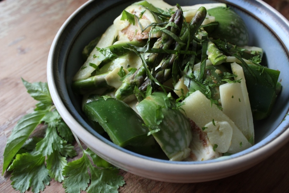 Green Vegetable Green Curry