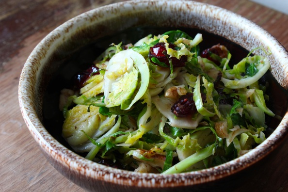 Sweet & Crunchy Sprout Slaw