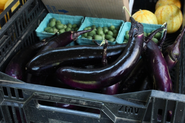Orient Express eggplant from the LG