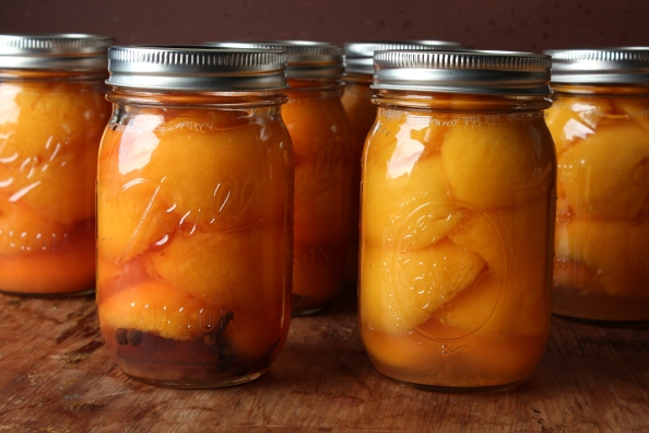 Honeyed peaches and nectarines