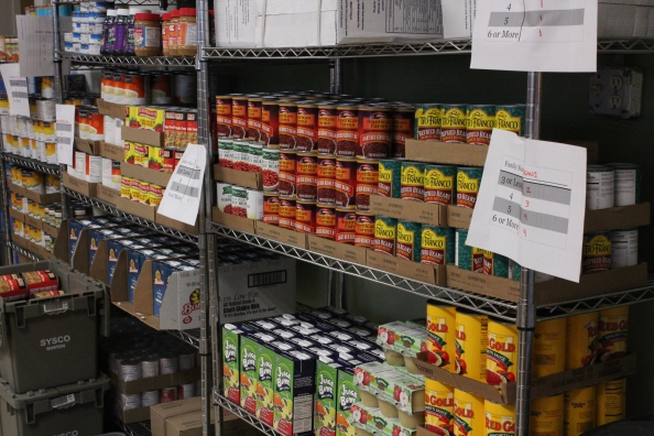 EPH food pantry dry goods